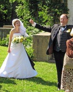 Wedding Pic outside